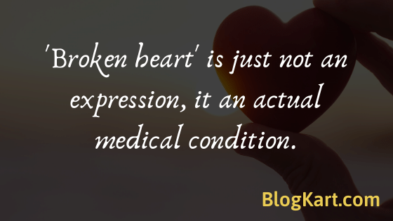 broken heart is a medical condition