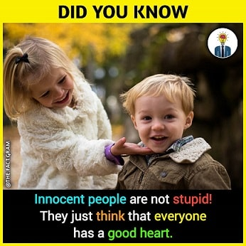 amazing facts about innocent people
