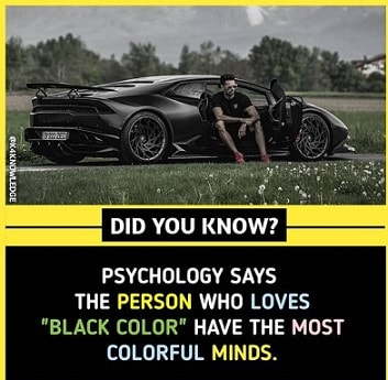 interesting facts about people color choice
