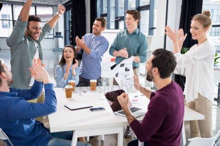 blogkart team celebrating