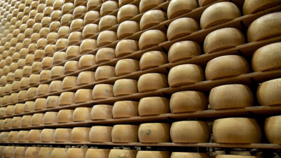 Parmigiano Reggiano the most expensive foods in the world