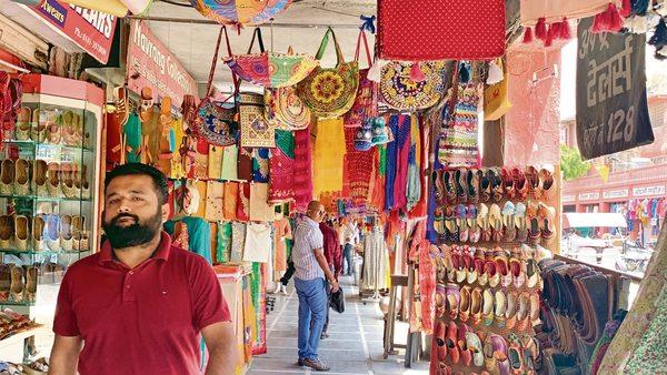 culture and tradition rich bapu bazar jaipur