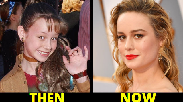 brie larson childhood photos