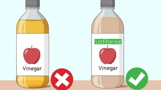 apple cider vineger for shiny hair
