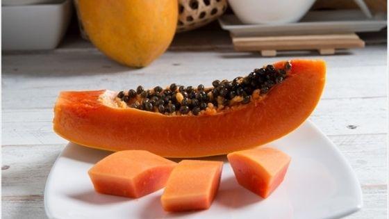 papaya improve skin complexion